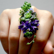 Do not reuse Ring Corsage Fiona Perry Floral Design